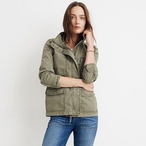Madewell Green Surplus Cotton Jacke sise M